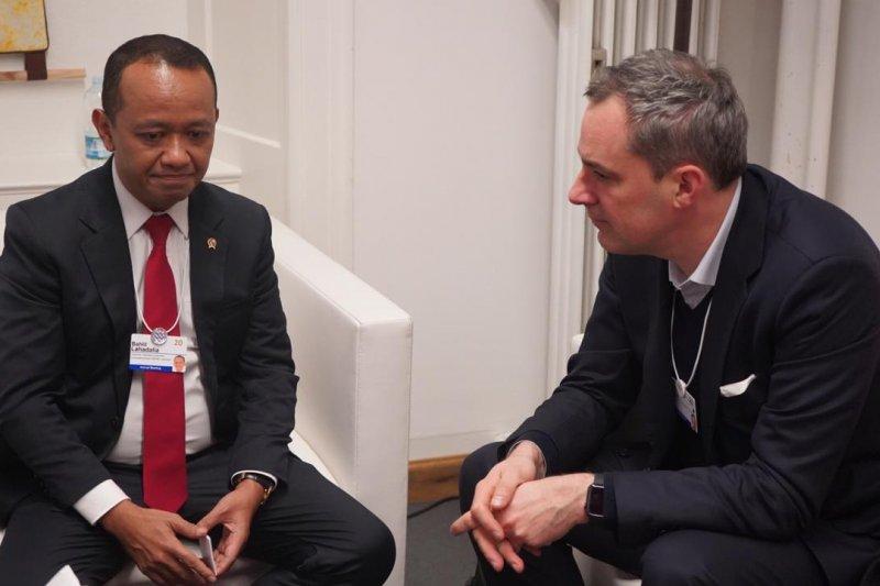 Kepala BKPM Bahlil ajak Siemens berinvestasi di ibu kota baru