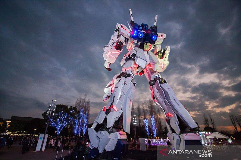 Rayakan ulang tahun ke-40, robot Gundam 18 meter dibuka untuk umum