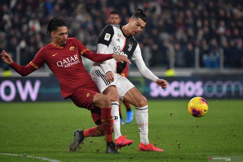 Klub Juve singkirkan Roma untuk rebut tiket semifinal Coppa Italia