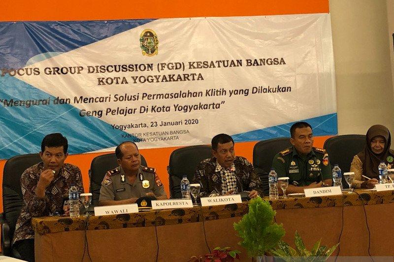 """Pemkot Yogyakarta akan bentuk satgas khusus cegah """"klitih"""""""