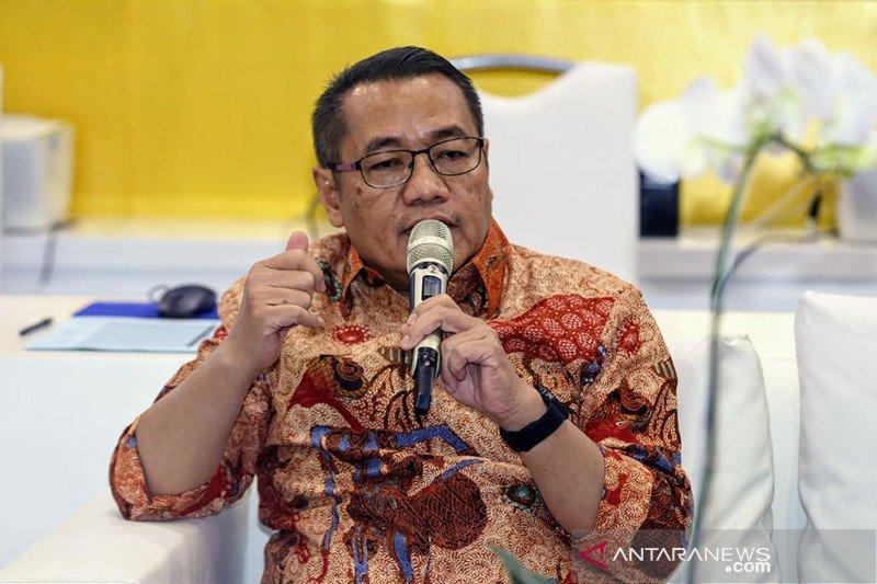 Kementerian PUPR semprot disinfektan rumah penerima BSPS di Lampung