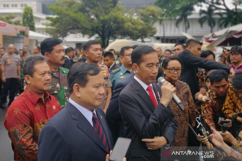 Presiden agendakan ratas bahas alutsista di Surabaya