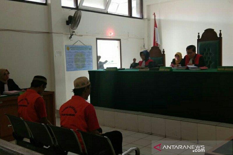 PN Palembang vonis seumur hidup kurir 144 kilogram ganja