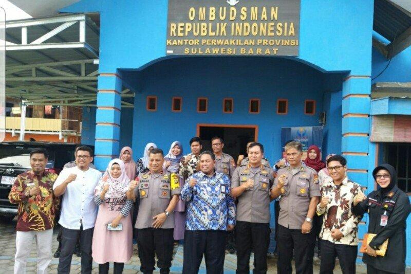 Ombudsman Sulbar apresiasi Kapolda selesaikan kasus kericuhan di Polman