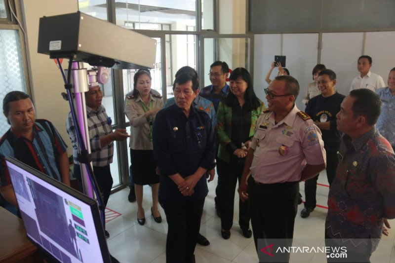 Antisipasi ancaman virus corona, Wali Kota Manado pantau langsung bandara Sam Ratulangi