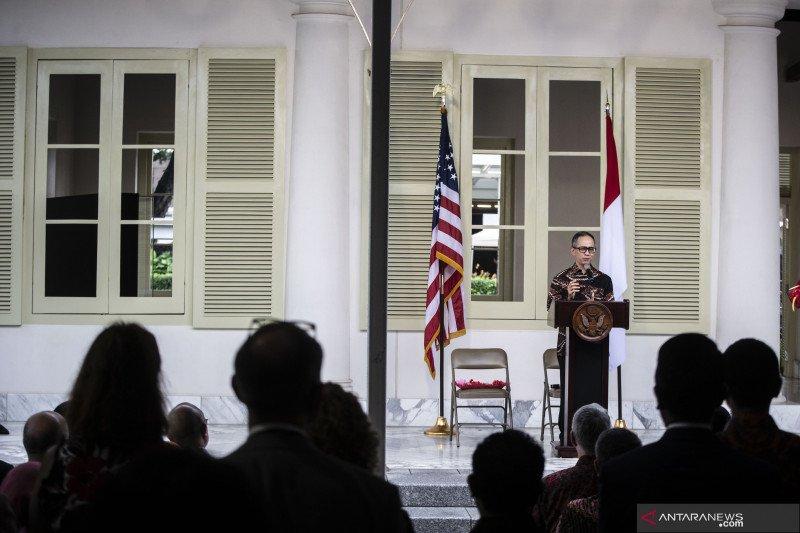 Peresmian gedung bersejarah di komplek Kedubes AS