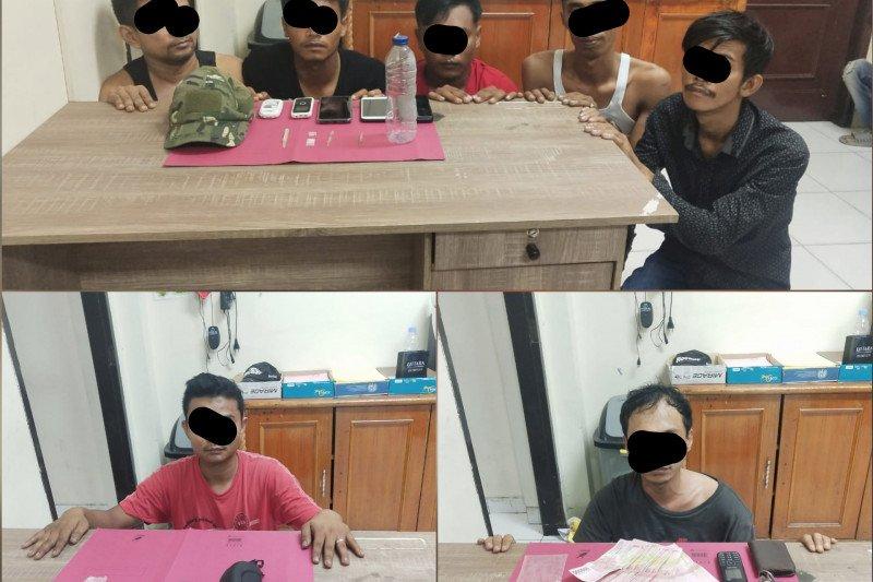 Polres Siak tangkap tujuh orang terkait narkoba, begini kronologisnya