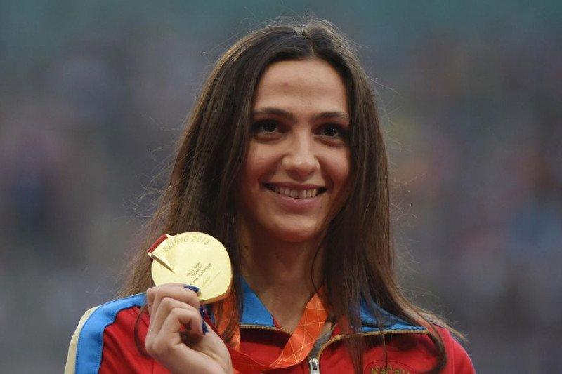 Skandal doping, Maria Lasitskene terancam gagal tampil di Olimpiade