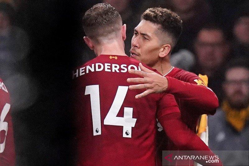 Liverpool tundukan tuan rumah Wolverhampton