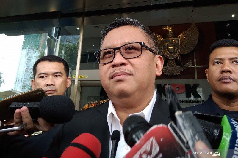 Diperiksa KPK, Hasto mengaku dicecar 24 pertanyaan
