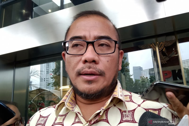 Diperiksa KPK, Hasyim Asy'ari ditanya soal proses Pemilu 2019