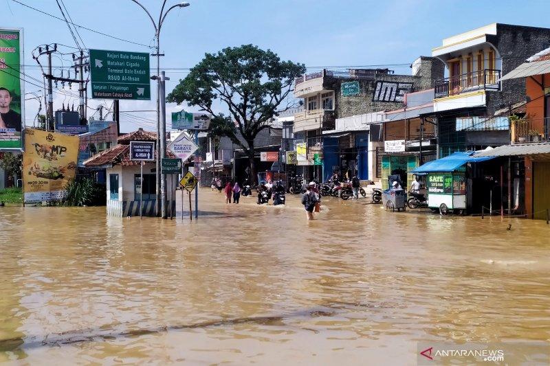 Banjir kembali melanda Kabupaten Bandung