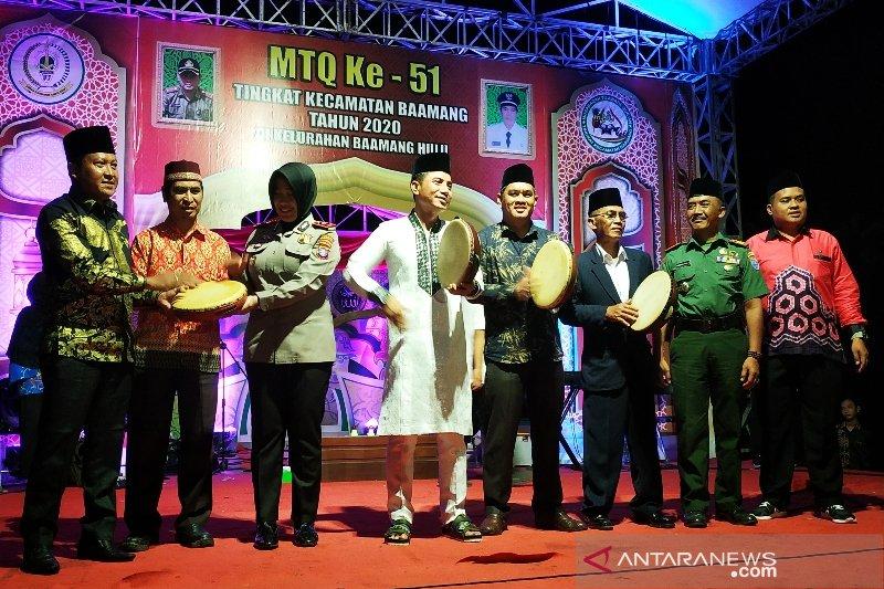 Apresiasi MTQ Baamang, Bupati Kotim siapkan hadiah ini untuk juara