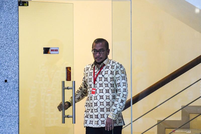 Komisioner KPU Hasyim Asy'ari diperiksa KPK