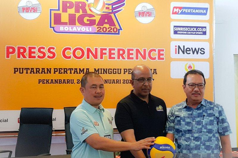 Menpora akan buka putaran pertama Proliga 2020 di Pekanbaru