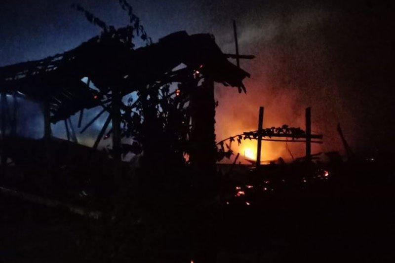 Pria di Pulang Pisau Kalteng membakar rumah