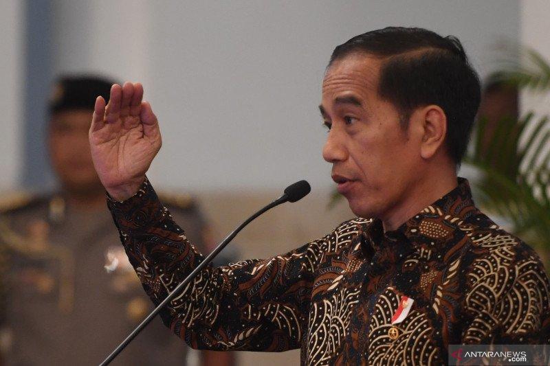 "Presiden Jokowi tekankan ""omnibus law"" supaya Indonesia kompetitif"