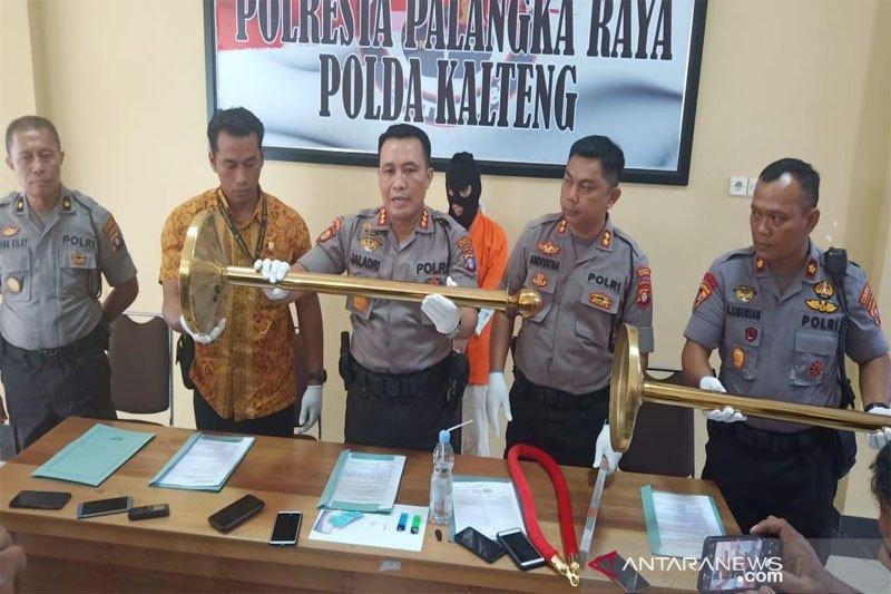 Polisi tangkap musisi Palangka Raya ngamuk di lobi hotel