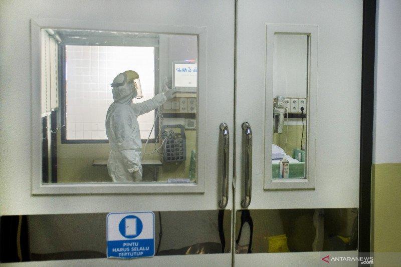 Pasien terduga virus corona dirawat di RSHS Bandung