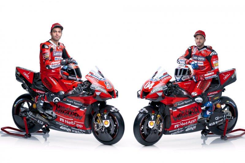 Tim Ducati luncurkan motor baru untuk musim MotoGP 2020