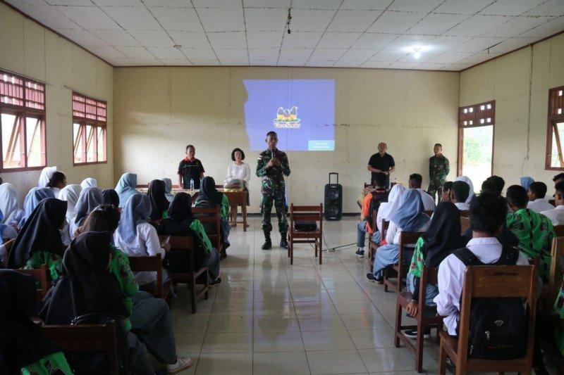 TNI-Yayasan Terang sosialisasi bijak gunakan medsos di Merauke