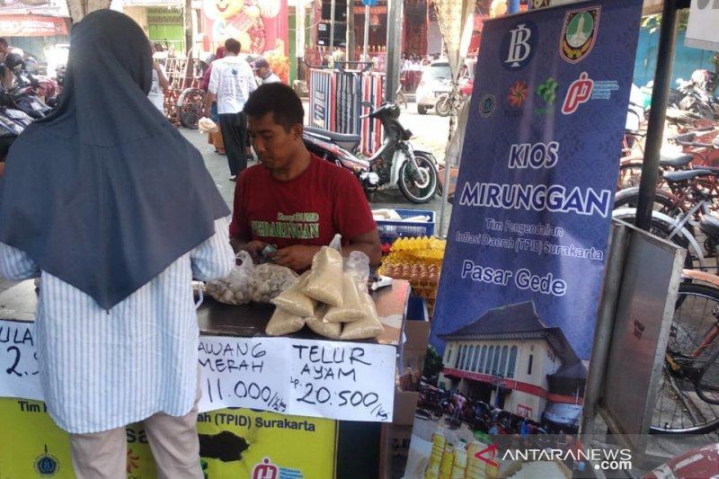TPID Surakarta jual  ratusan kilogram komoditas pokok