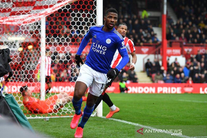 Leicester lewati Brentford menuju putaran kelima Piala FA
