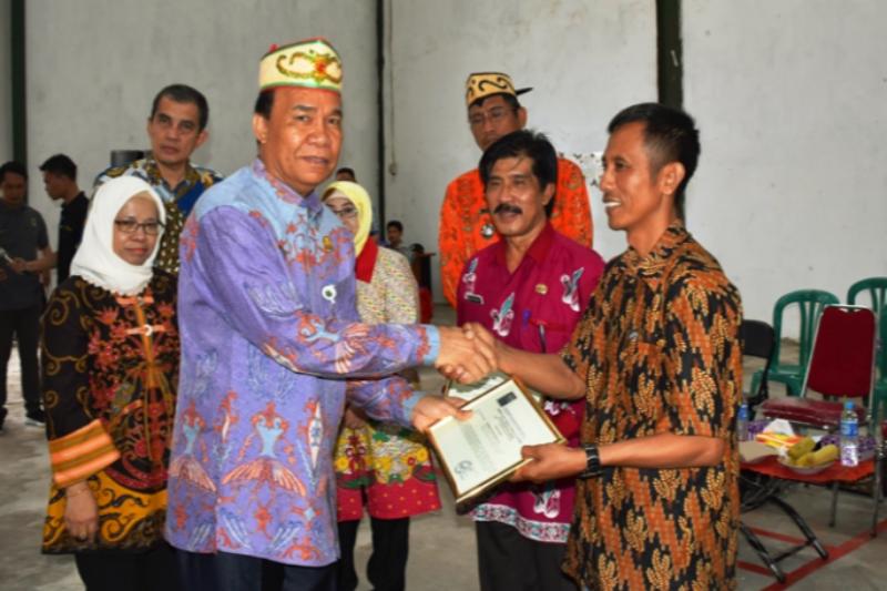 Pertanian padi Kapuas terus berkembang, pemkab apresiasi dukungan BAPPEBTI