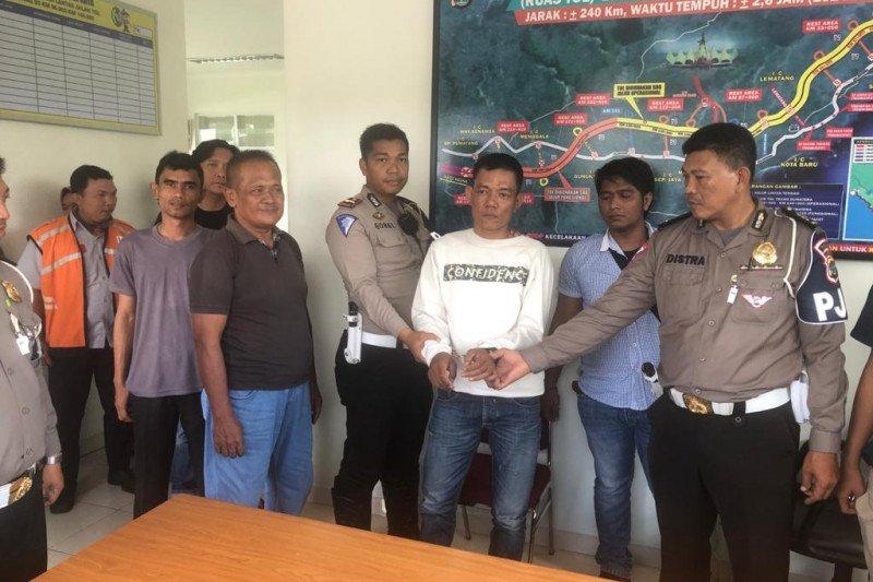 Dirlantas Polda Lampung apresiasi Satuan PJR tangkap pelaku curas