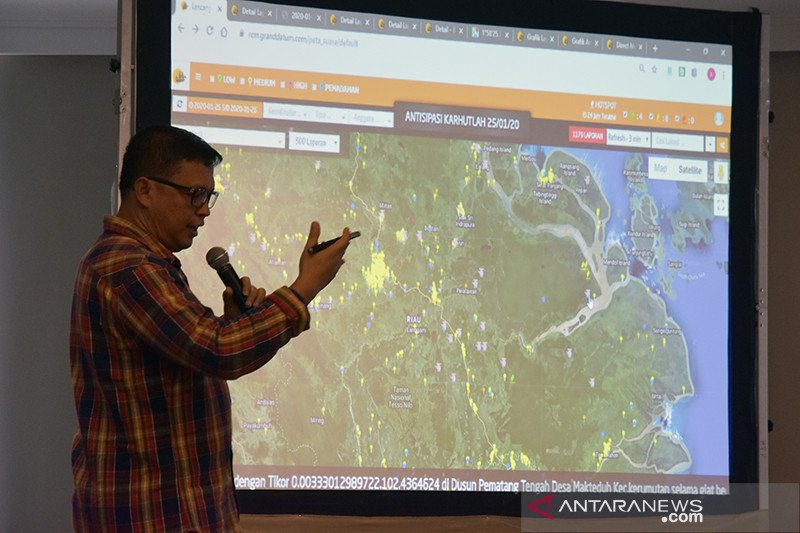Dashboard Lancang Kuning pantau keseriusan polisi atasi karhutla Riau, begini penjelasannya