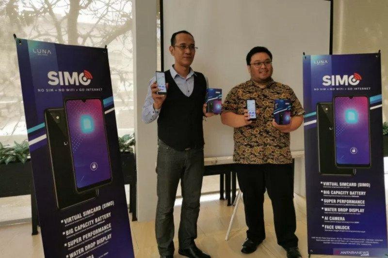 Ponsel internet tanpa kartu SIM