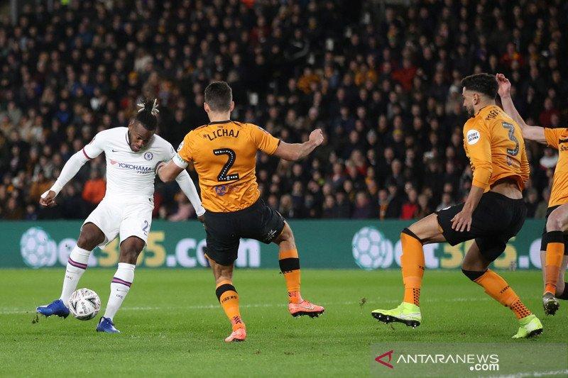 Chelsea lanjut ke putaran kelima Piala FA usai menang di Hull