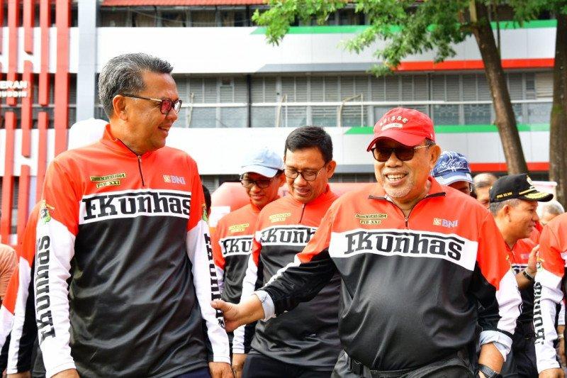 Menteri Negeri Johor Malaysia hadiri reuni FK Unhas Makassar