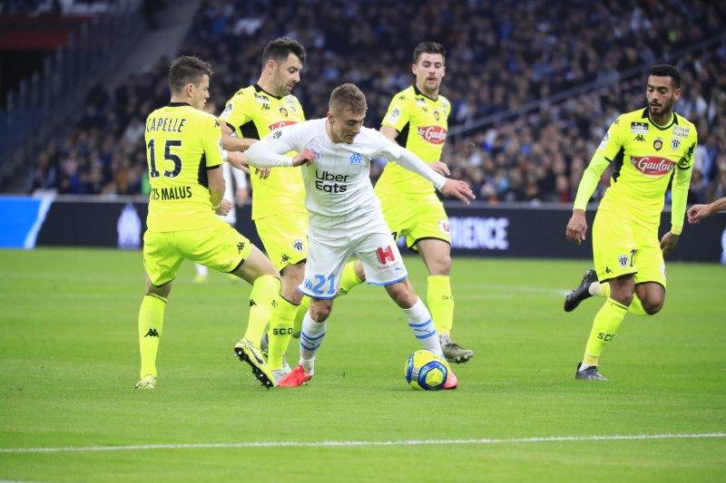 Marseille angka dengan Angers di Liga Prancis