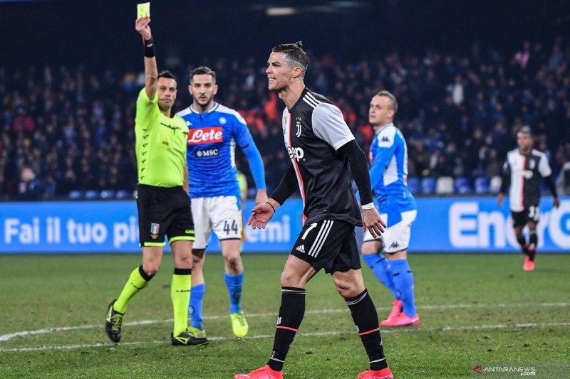 Hasil Liga Italia, dua tim teratas gagal amankan kemenangan