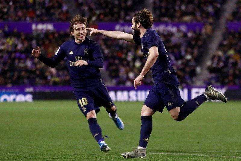 Real Madrid tundukkan Real Valladolid 1-0