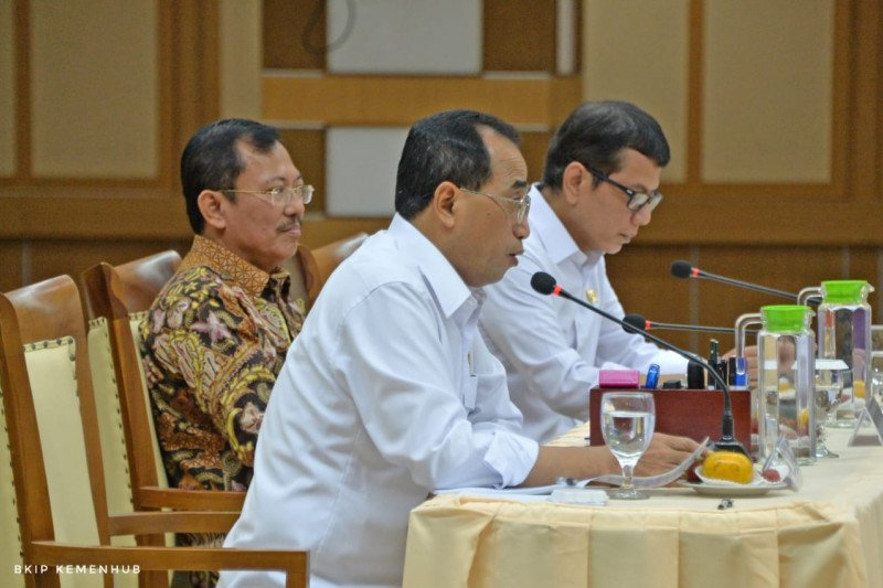 Three ministers discuss prevention of coronavirus in Indonesia