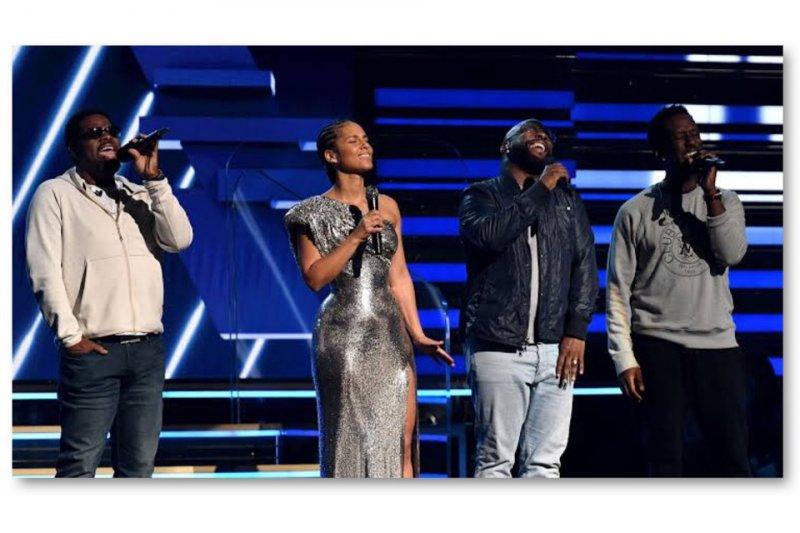 Alicia Keys dan Boyz II Men berikan penghargaan untuk Kobe Bryant