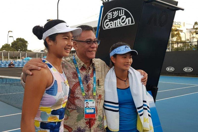 Priska/Eala lolos ke semifinal Australian Open Junior