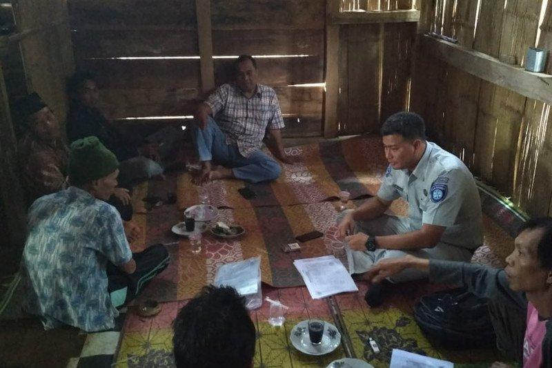 KPJR Pringsewu serahkan dana santunan kepada ahli waris korban kecelakaan