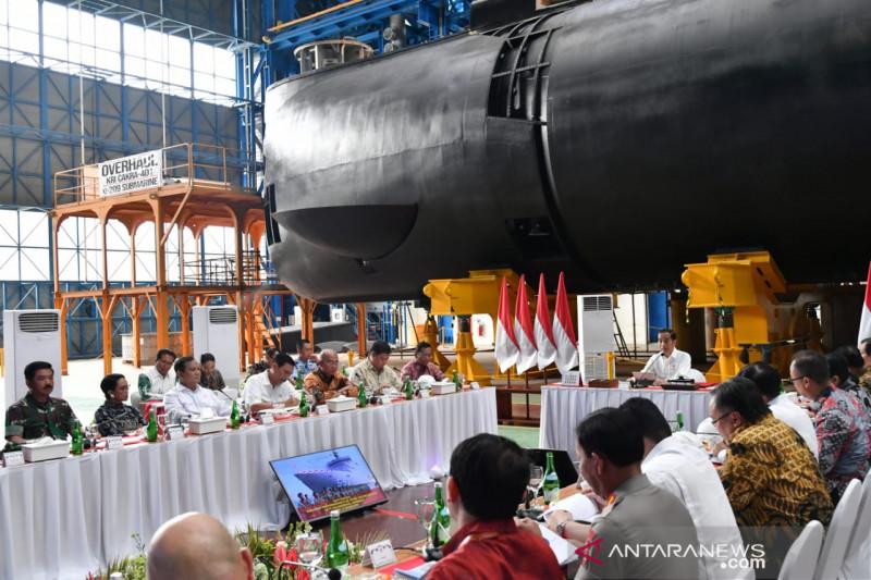 Presiden janjikan pembenahan ekosistem industri pertahanan