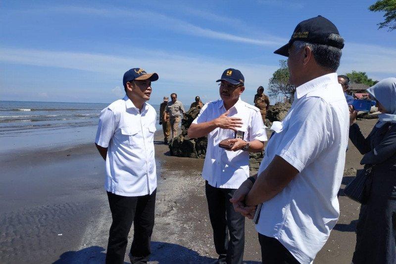 DPRD Sulsel tinjau abrasi di Galesong Kabupaten Takalar