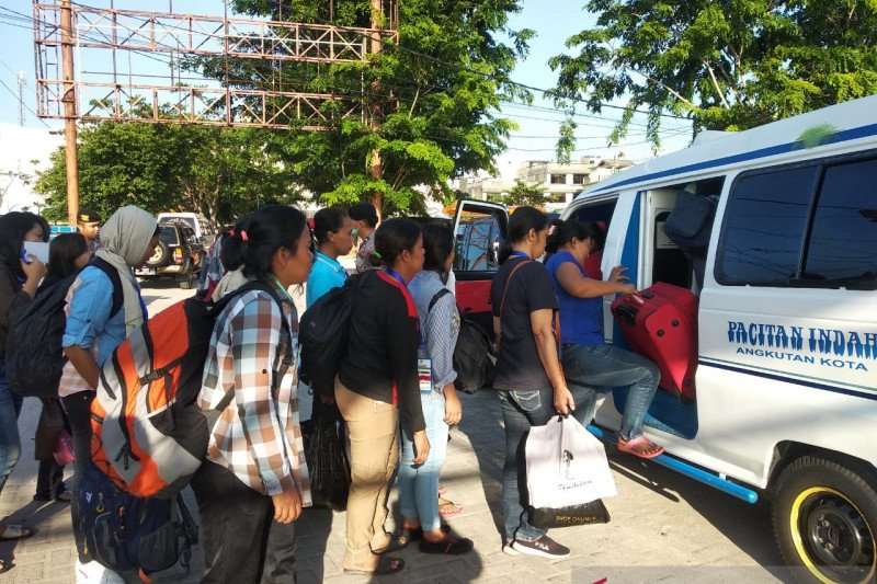 157 TKI dideportasi Malaysia melalui Tanjungpinang