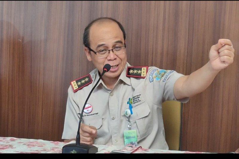 KKP  fokus awasi penyebaran virus corona di Pelabuhan Panjang