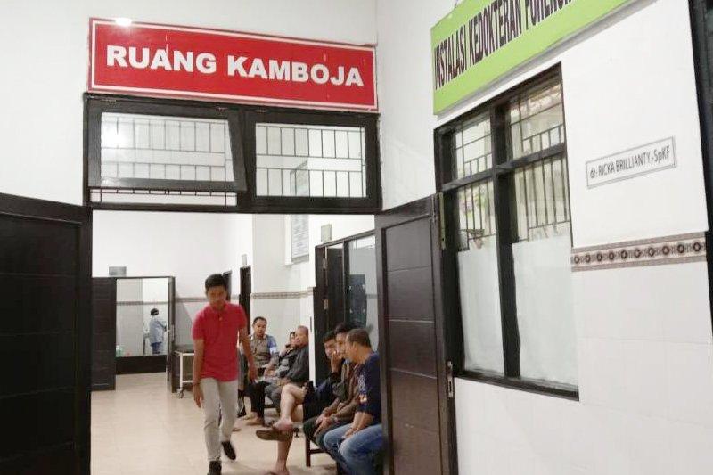 Tahanan Polda Kalteng diduga tewas terpeleset di ruangan sel penjara