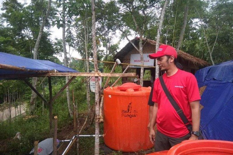 Mercy Corps Indonesia bantu air bersih di lokasi pengungsian Lebak