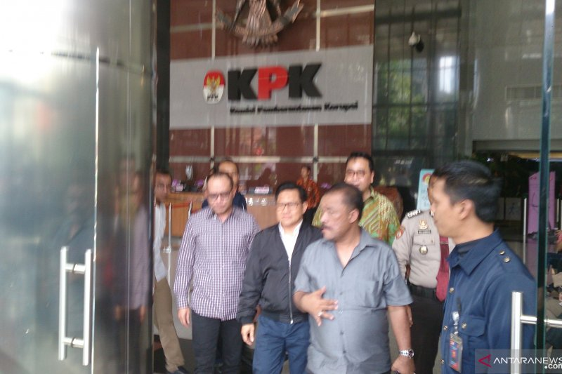 Cak Imin penuhi panggilan KPK jadi saksi untuk Hong Artha