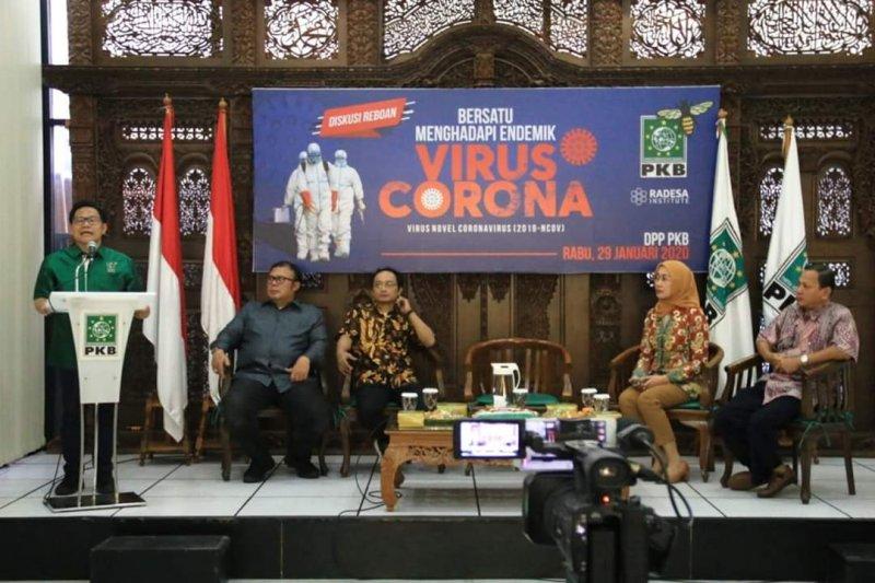 PKB ajak tingkatkan kewaspadaan Virus Corona