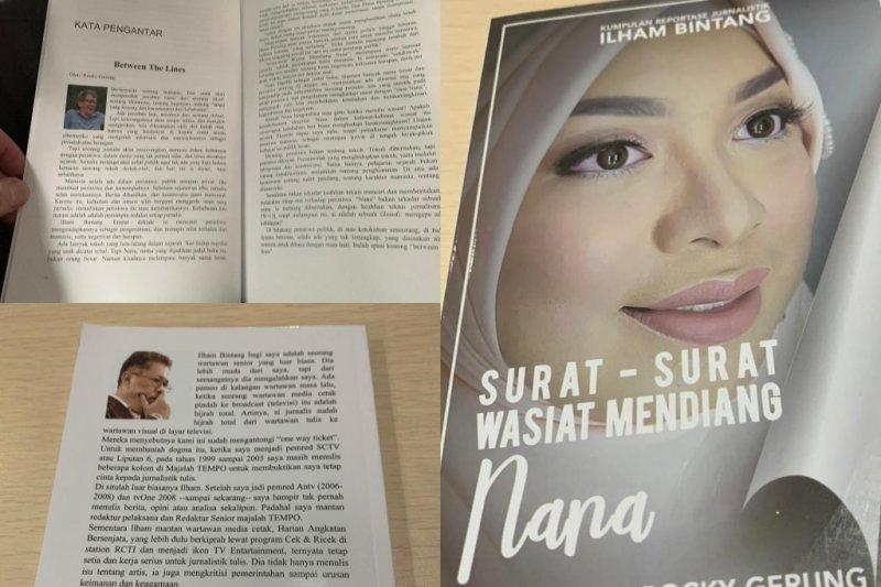 Buku Ilham Bintang berisi kumpulan artikelnya sepanjang tahun
