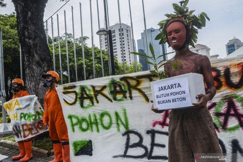 Revitalisasi Monas ditolak, Walhi: Jakarta butuh pohon bukan beton